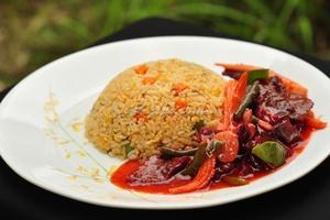 Nasi Goreng Daging Merah ala Thai