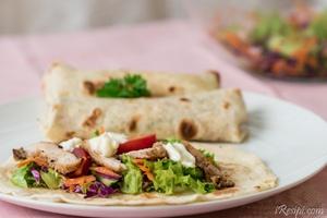 Tortilla Wrap Ayam Panggang