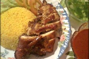 Nasi Ayam BBQ