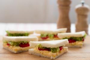 Sandwich Telur Sedap
