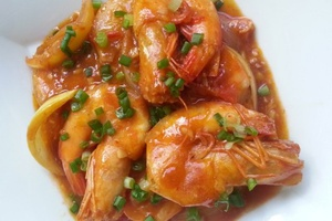 Udang Sweet Sour
