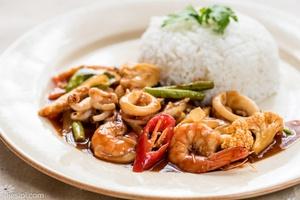 Paprik Seafood Ala Thai